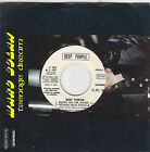 DEEP PURPLE - smoke on the water - woman from tokio / JESSE GREEN - come.... 7""