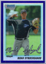 NOAH SYNDERGAARD RC - 2010 Bowman Chrome Draft Picks Purple Refractor, Mets, SP