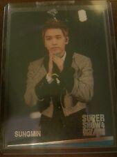 Super Junior sungmin super show 4 official photocard Card Kpop K-pop bts btob
