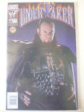 Undertaker Comic Issue 10. RARE photo couverture. CHAOS COMICS. JANVIER 2000