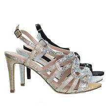 Rita6 High Heel Open Toe Evening Party Dress Sandal w Rhinestone & Glitter