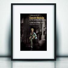 Reproduction Concert Memorabilia David Bowie Memorabilia