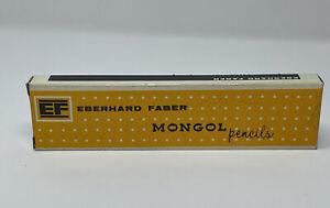 Eberhard Faber EF Mongol 482 No. 2 Pencils 12 New In Original Box VTG