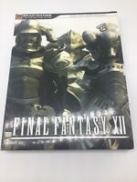 Final Fantasy XII Limited Edition Strategy Guide & Art Book Brady Games
