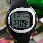 Pulse Heart Rate Monitor Wrist Watch Calories Counter Sports Fitness Exercise A+