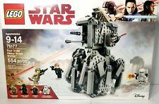 LEGO Star Wars 75177 First Order Heavy Scout Walker General Hux Flametrooper