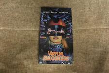 Virtual Encounters (NEW SEALED VHS 1995) Elizabeth Kaitan Rated Surrender Cinema