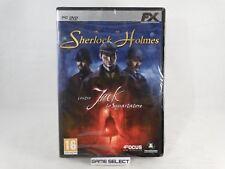 SHERLOCK HOLMES CONTRO JACK LO SQUARTATORE PC COMPUTER DVD-ROM NUOVO SIGILLATO