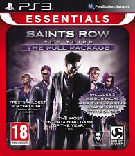 Saints Row The Third - The Full Package (Essentials) (Playstation 3) NEW