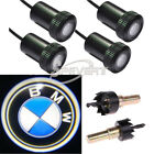 2X Car Logo LED Step Door Courtesy Welcome Light Laser Shadow Projector for BMW