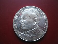 Estado del Vaticano Vaticano papal El papa Juan Pablo Ii Medalla Plateado