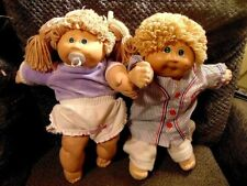 Cabbage Patch Kids Vintage Lot Of 2 D