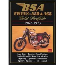 BSA Twins A50 & A65 Gold Portfolio 1962-1973 book Paper
