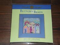 MILL HILL Buttons & Beads Counted Cross Stitch Kit - MH14-1815 - CABANA BEACH