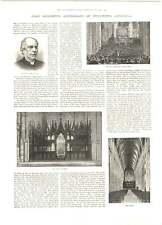 1893 800th Anniversary Winchester Cathedral Submarine Telephone Ireland