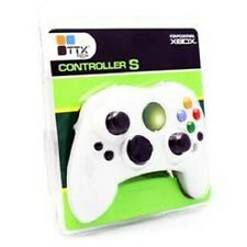 NEW 1 White Controller & Recoil Extension for Original Microsoft XBOX Console
