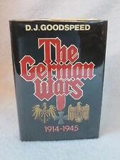 D. J. Goodspeed  THE GERMAN WARS 1914-1945  1985 Bonanza Books, NY