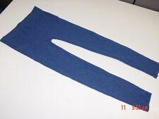NWT Girls Womens Poof Leggings Warm Blue Silver Cute Trendy Metallic
