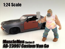 MUSCLEMEN CUSTOM VAN GO FIGURE FOR 1:24 SCALE MODELS BY AMERICAN DIORAMA 23997