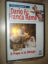 DVD + LIBRO TUTTO IL TEATRO DI DARIO FO E FRANCA RAME IL PAPA E LA STREGA