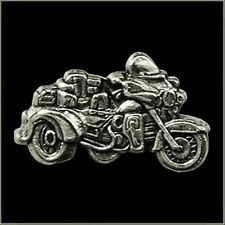 TRIKE BIKE POLISHED BIKER PIN