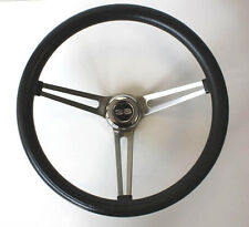 Chevelle Nova SS Center Cap Classic Steering Wheel Black Grant SS Spokes 15""