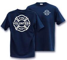 VOLUNTEER MALTESE FIREFIGHTER  LARGE T-Shirt Fire Dept
