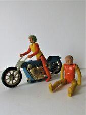 """Jouet Vintage """" GYRO JET""""   Motards Meccano Années 70 - 80"""