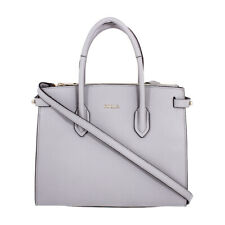 Furla Pin Ladies Small Gray Onice Leather Tote 977682