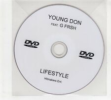(GP619) Young Don Feat G Frsh, Lifestyle - DJ DVD