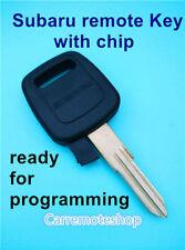 Transponder Key for Subaru WRX LIBERTY IMPREZA STi 92 > 00 Forester >98 (4d62)
