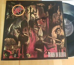 Slayer reign in blood vinyl,Geffen Records – 924 131-1,Def Jam Recordings