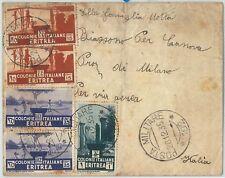 71993 - AOI  ERITREA  - Storia Postale: BUSTA - POSTA MILITARE 102   1935