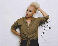 Emeli Sande HAND SIGNED 8x10 Photo Autograph, Our Version, Long Live The Angels