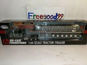 1:64 DPC Tractor Trailer 7axle trailer Tarp Decade of die-cast #31198~RARE ONE
