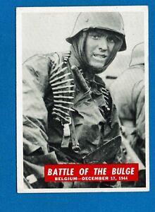 1965 Philadelphia Chewing Gum Corporation War Bulletin Cards U-Pick