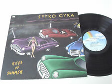 SPYRO GYRA Rites of Summer - 1988 GERMANY LP - Jazz Fusion EX