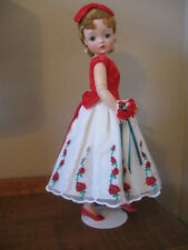 DECEMBER BRIDESMAID OUTFIT FOR CISSY DOLL-5 PCS (No Doll).