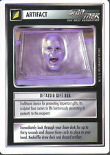 STAR TREK CCG WHITE BORDER PREMIERE 1995 BETA RARE CARD BETAZOID GIFT BOX