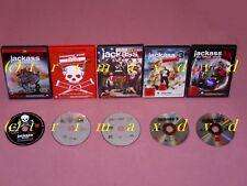 5x DVD _Jackass The Movie & Jackass Nr.2 & Jackass 2.5 & Jackass 3 & Jackass 3.5
