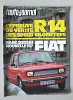 L AUTO JOURNAL - N° 11 - 15 JUIN 1977 *