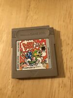 GENUINE BUBBLE BOBBLE NINTENDO GAMEBOY ORIGINAL GAME *CART* TESTED AND WORKING