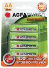 AgfaPhotoPilas Recargables AA Blister x4 NiMH 800 mAh 1.2 V AA/HR6 - 4x1