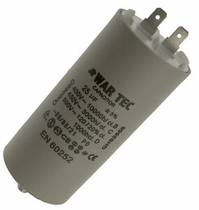 Capacitor 230/240V Fits BELLE Mini Mix 150 Cement Mixer (July 1999+)