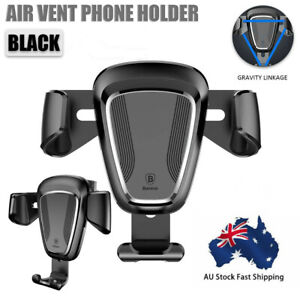 Universal Car Air Vent Mount Phone Gravity Holder For GPS Mobile Smart Phone