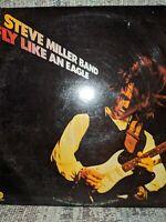 "Steve Miller Band – ""Fly Like An Eagle"" - 1976 Capitol Rock Vinyl LP - vg"
