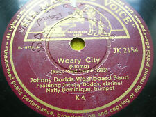 78 rpm-JOHNNY DODDS - Weary city -  GRAMOPHONE JK 2154