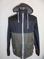 RUSTY NYLON Regenjacke surfboard supply co. vintage surf rain jacket Gr.L