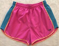 PINK Victoria's Secret Pink & Blue Running Athletic Shorts Size Small S Junior's