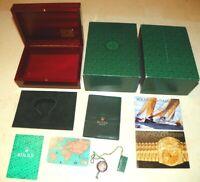 Original Rolex Mahagoni Box u. Booklet Set - Yachtmaster Modelle - Ref. 69.00.09